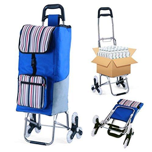 zusammenklappbar Einkaufen Cart Trolley Dolly Treppe Klettern zusammenklappbar (Utility Mit Cart Räder)