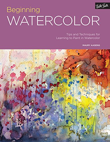 Portfolio: Beginning Watercolor: Tips and techniques for learning to paint in watercolor