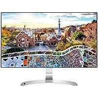 "LG 27MP89HM-S.AEU Monitor per PC Desktop 27"" LED IPS, Full HD 1920x1080, 5ms, AMD FreeSync 75Hz, 2x HDMI, 1x VGA, Borderless, Argento"