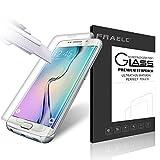 Fraelc® Samsung Galaxy S6 Edge Film Protection en Verre trempé écran Protecteur pour Samsung Galaxy S6 Edge Protection écran vitre Haute Définition Dureté 9H