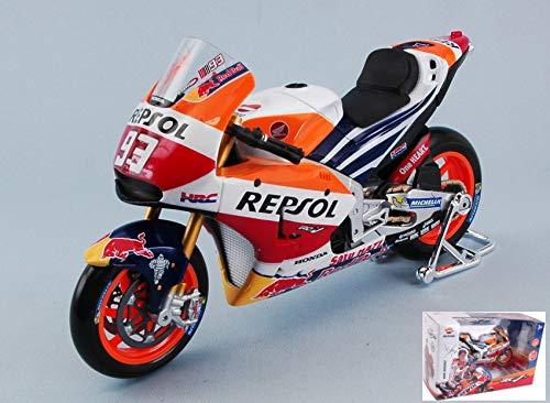 HONDA REPSOL RC213V M.MARQUEZ 2017 N.93 WORLD CHAMPION MOTOGP 1:18 - Maisto - Moto - Die...