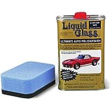 Liquid Glass Hochglanzversiegelung 473 ml + Auftragsschwamm im Set