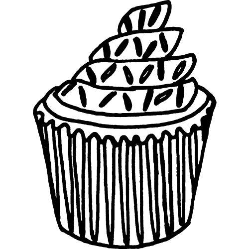 Azeeda A7 'Cupcake mit Streuseln' Stempel (Unmontiert) (RS00001181)