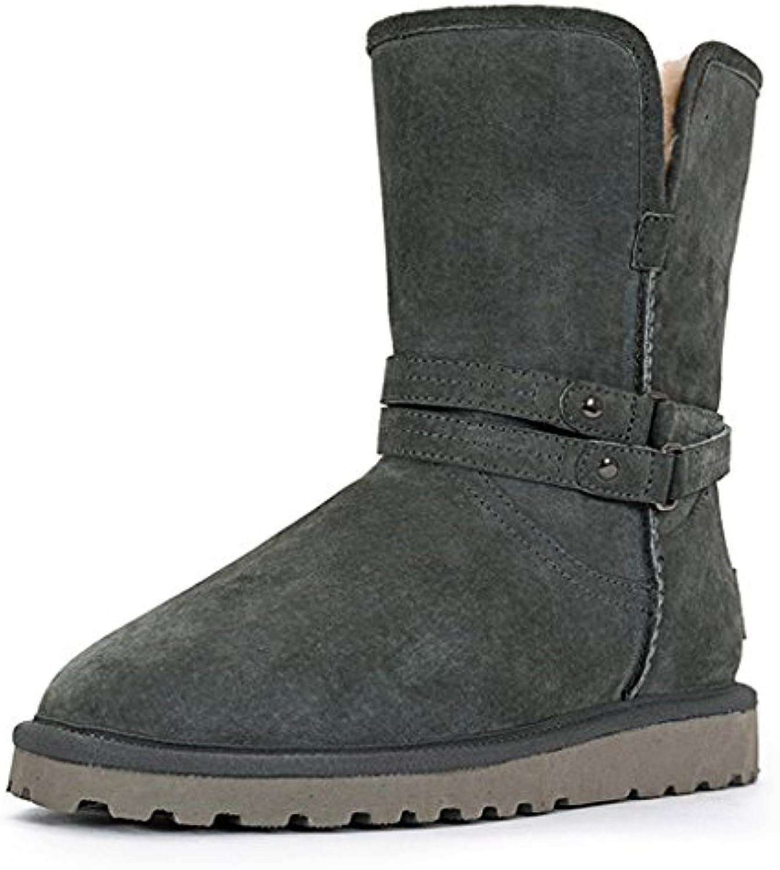 Femelle Bottes de de de Neige Automne Hiver Long Tube Bottes Plus Cachemire Garder au Chaud Chaussures en CotonB07JPYJ8BPParent eb6c98