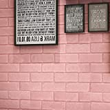 TAOtTAO Wand-Ziegelstein-Stein-rustikaler Effekt-selbstklebender Wand-Aufkleber-Ausgangsdekor des Wand-3D (E)