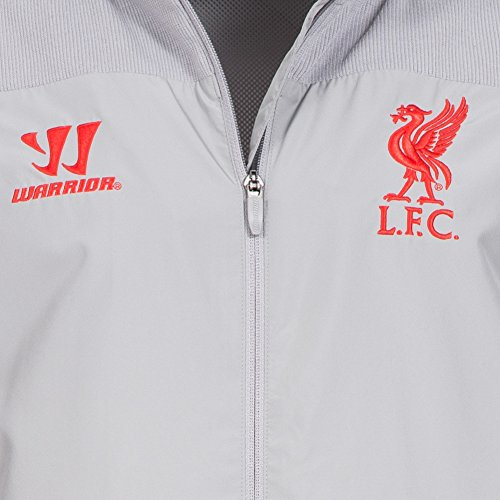 2014-15 Liverpool Warrior Presentation Tracksuit (Alloy) aluminium