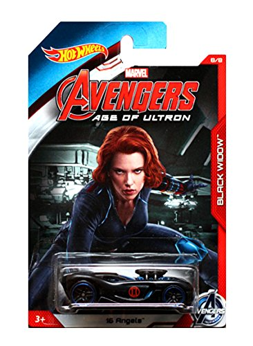 Hot Wheels Exclusive - Avengers Age of Ultron - Black Widow - 16 Angels by Hot Wheels