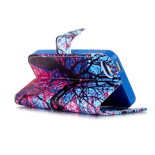 Ukayfe iphone 5/5S Copertura, confine di placcatura Design Crystal Clear diamante di Bling Custodia Ultra Slim Morbido TPU Gel Silicone Trasparente Protettivo Skin Protettiva Shell Case Cover per ipho acero rosso