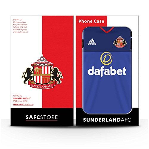Offiziell Sunderland AFC Hülle / Case für Apple iPhone 7 / Rodwell Muster / SAFC Trikot Home 15/16 Kollektion Torwart