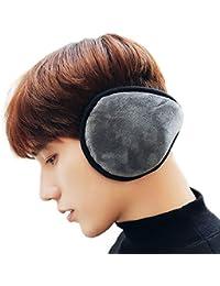 ToullGo Winter Ohrenwärmer,Unisex Earmuffs Ohr,Warme Fleece Weich Warme Ohrenschützer Faltbar Einstellbare Größe für Damen und Herren