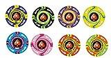 Pokerchips Keramik 10,5g 39mm individuelles Design (aligned edges) ab 500 Chips
