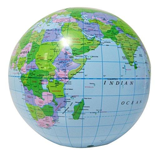 YeahiBaby Globo inflable globo tierra Mapa