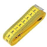Tuch-Lineal, 3 m, ultraklar, Maßstab, weich gesäumt, zum Nähen, Schneider, Stofflineal