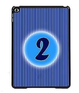 Printvisa 2D Printed Numerology Designer back case cover for Apple iPad Air - D4219