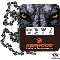 Chaine Kerwood pour STIHL 031 3/8 1,6 mm 84 maillons
