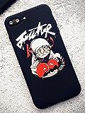 Générique Coque iPhone 7+ Plus et iPhone 8+ Plus Supreme Noir et Rouge Jordan Boxe...