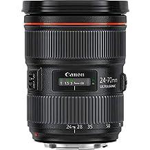 Canon EF 24-70mm F2.8L II USM Standard-Zoom Objektiv (82mm Filtergewinde) schwarz (Generalüberholt)