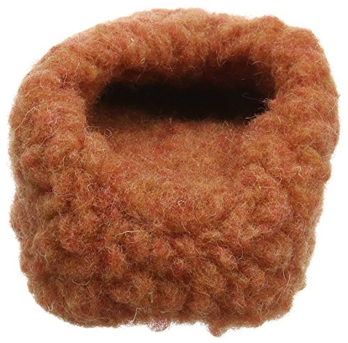 Woolsies Hedgehog Natural Wool, Chaussons Mules Mixte Adulte Rouge (Red)