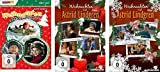 Weihnachten mit Astrid Lindgren Volume 1-3 im Set - Deutsche Originalware [3 DVDs]