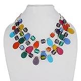DCA Multicolor Glass Women Necklace (426...