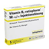 Vitamin B1 ratiopharm 50mg/ml iniecto lsg. Ampulle 5X2 ml
