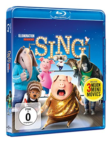 Sing [Blu-ray]: Alle Infos bei Amazon
