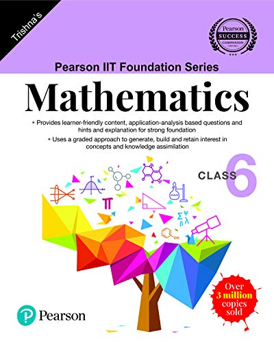 Pearson IIT Foundation Series - Mathematics - Class 6