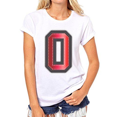 Red Sport Zero Damen T-Shirt Weiß