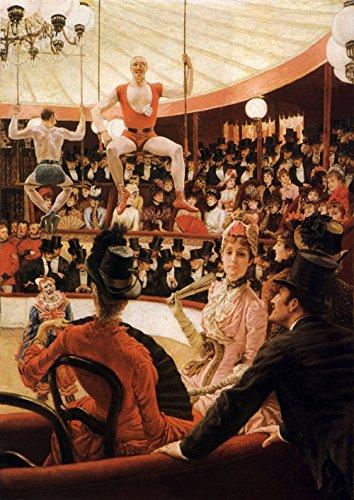 Spiffing Prints James Tissot - Women of Paris The Circus Lover - Extra Large - Matte Print