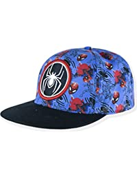 Marvel Spiderman Official Boys Snapback Baseball Hats, Caps Summer Sun Hat 2-10 Years - New 2018