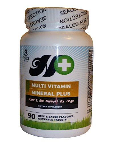 Gelenktabletten für Hunde - Max Glucosamine Chondroitin MSM Gelenkfit - Arthritis Schmerzmittel - Vitamin C & E, Hyaluronic Acid - 90 Stück
