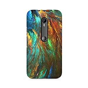 PRINTASTIC 231_PTV2 Peacock Shades Design Printed Cusomised MOTO X STYLE Premium Back Case/Cover -Amazing colors & long lasting prints, High-resolution, Matte Finished and soft to touch, 3D Printed, Polycarbonate Material, Scratch resistant, Water resistant, Dust resistant, Fadeproof Mobile Hard Back Case/Covers