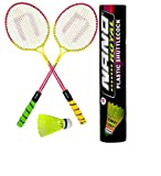 #10: Dixon Badminton Rackets For Kids With Plastic Shuttle ( 2rackets and 10 pcs shuttle with cover)(COLOR MAY VARY)