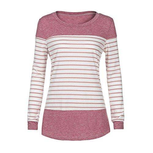 Ulanda-EU - Camicia - Casual -  donna Pink