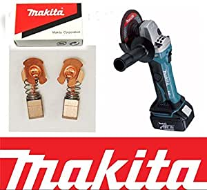 Balais Carbone Makita Makita 8414d 8433d 8434D 8443D 8444D BCS550 BDF460 BFL080F M8