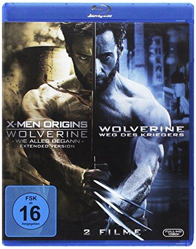 Wolverine 1 und 2 [Blu-ray] (Wolverine Original Kostüm)