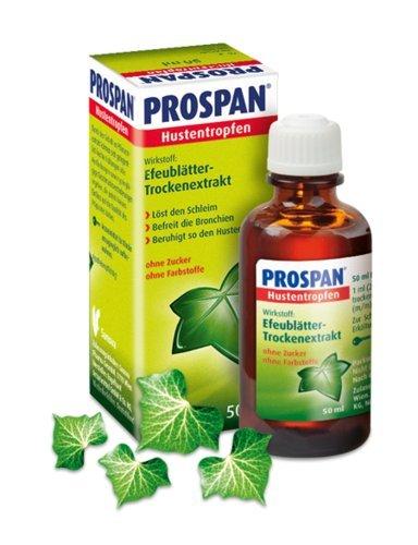 Prospan Hustentropfen Spar-Set 2x20ml; wirksam und besonders gut verträglich gegen Husten, löst den in den Bronchien festsitzenden Schleim, anzuwenden bei akuten Hustenformen und bei chronisch-entzündlichen Bronchialerkrankungen