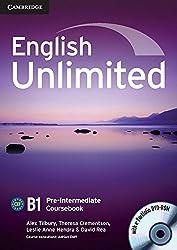 English Unlimited Pre-intermediate Coursebook with e-Portfolio