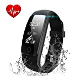 Fitness-Tracker-Watch-Runme-Activity-Tracker-with-Heart-Rate-Monitor-Bluetooth-Pedometer-with-Sleep-Monitor-IP67-Water-Resistant-Smart-Watch-Bracelet-Wristband-with-CallSMS-Remind-for-iOS-Android-Smar