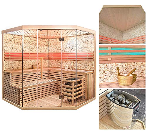 Home Deluxe – Traditionelle Sauna – Skyline XL BIG - 2