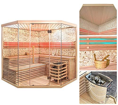 Home Deluxe – Traditionelle Sauna – Skyline XL BIG - 2