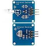 LaDicha Mini 38 Khz Ir Infrarot Sender Modul + Ir Infrarot Empfänger Sensor Modul Für Arduino Rpi Stm32