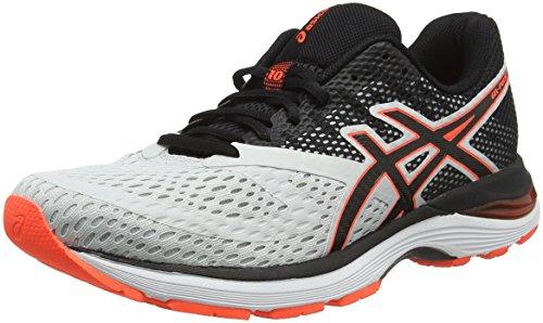 designer fashion 8af2a a9e9b ASICS Gel-Pulse 10, Chaussures de Running Homme, Multicolore (Glacier Grey