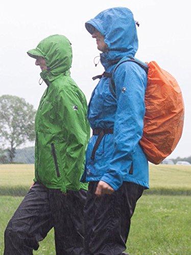 Deproc Active Herren Jacke Regenjacke Grün