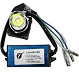 #8: AllExtreme 18W LED headlight bulb for Motorcycles,LED headlight bulb h4,Motorcycle light 12v / LED Bike Motorcycle Headlight Bulb For All Bikes