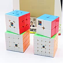 Cubo Conjunto Completo 2x2x2 3x3x3 4x4x4 5x5x5 - MoYu Cubo de Velocidad Magic Cube Rompecabezas 3D Puzzle Regalo Caja - STICKERLESS