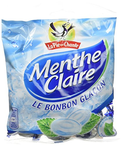 La Pie Qui Chante Bonbons Menthe Claire 180 g - Lot de 6