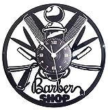 Orologio in Vinile da Parete LP 33 Giri Instant Karma Idea Regalo Vintage Handmade - Parrucchiere Capelli Salone Bellezza Barbiere Barber Shop