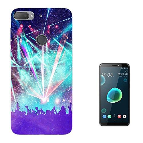 "Preisvergleich Produktbild Cellbell LTD 003339 - Party rave concert fun Design HTC Desire 12+ Plus 6.0"" Fashion Trend Silikon Hülle Schutzhülle Schutzcase Gel Silicone Hülle"