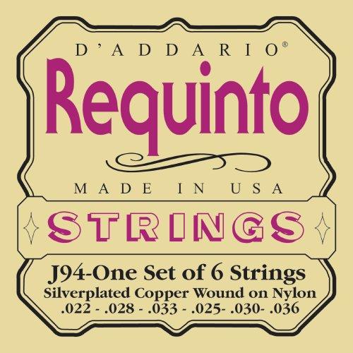 D\'Addario J94 Saitensatz für Ukulele, Dulcimer, Tenor Gitarre, Oud Requinto